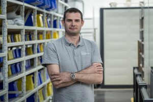 Christophe Janvier, Production and Process Engineering Manager, Aeronautics