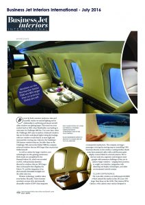 Business Jet Interiors International - July 2016